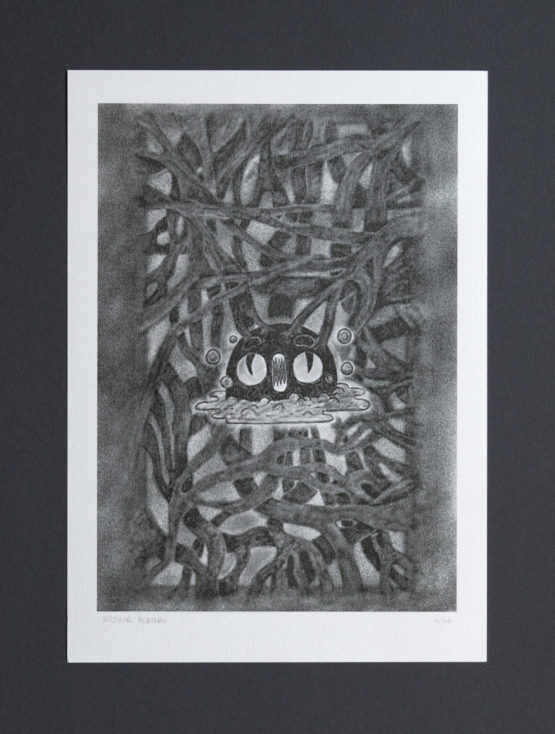Toxique _ xerox _ print _ poster _ arthur plateau _ illustration _ silver